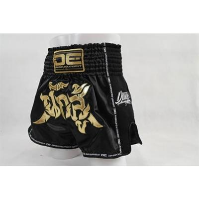 Danger Exclusive Thai Shorts Black-gold
